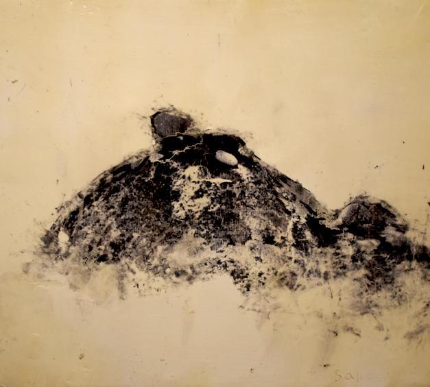 krasner's stone study #1