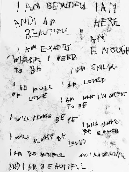And I am beautiful print