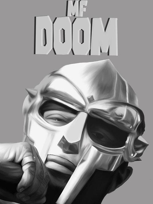 MF Doom Portrait