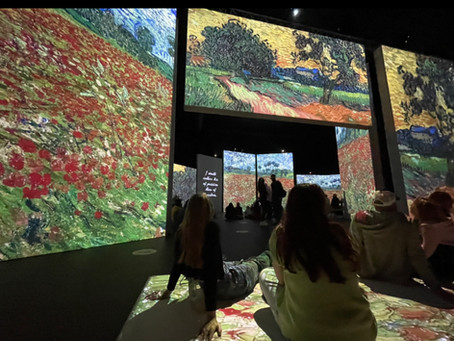 Van Gogh Interactive Exhibition Review