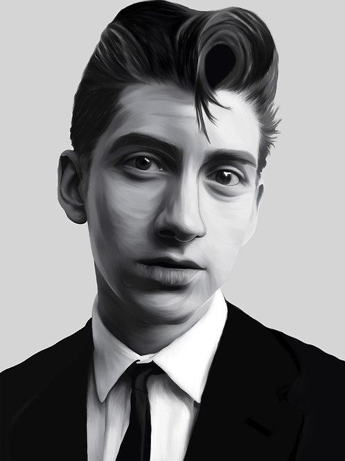 Alex Turner Portrait