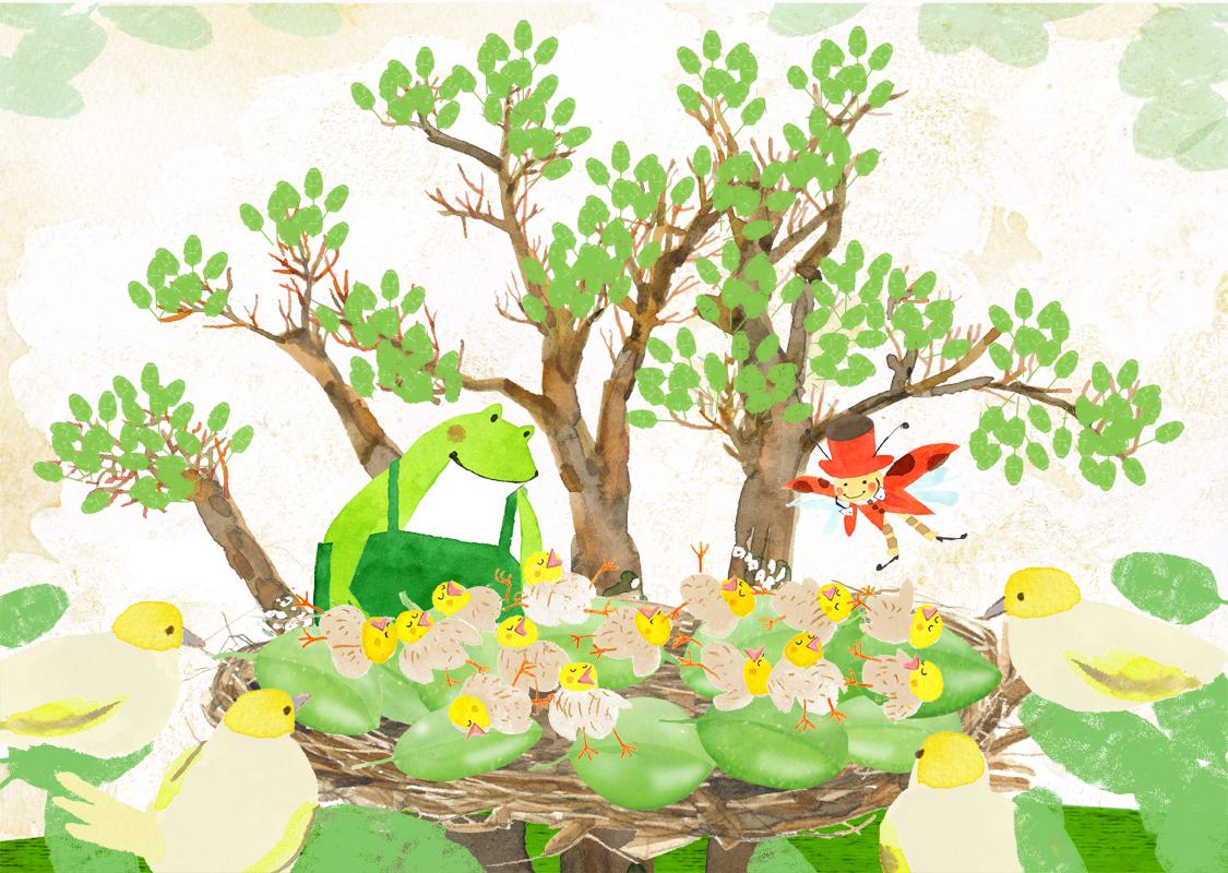 黄金の茶葉の木