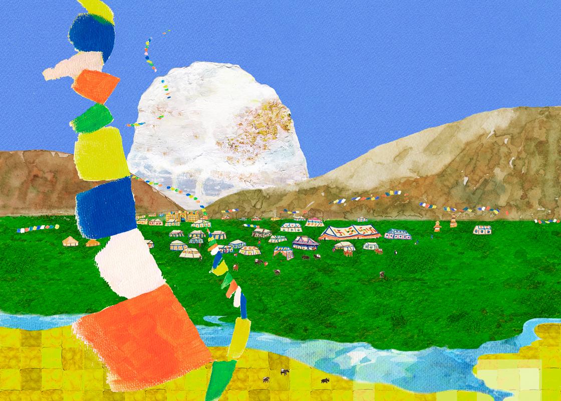 チベット カイラス山
