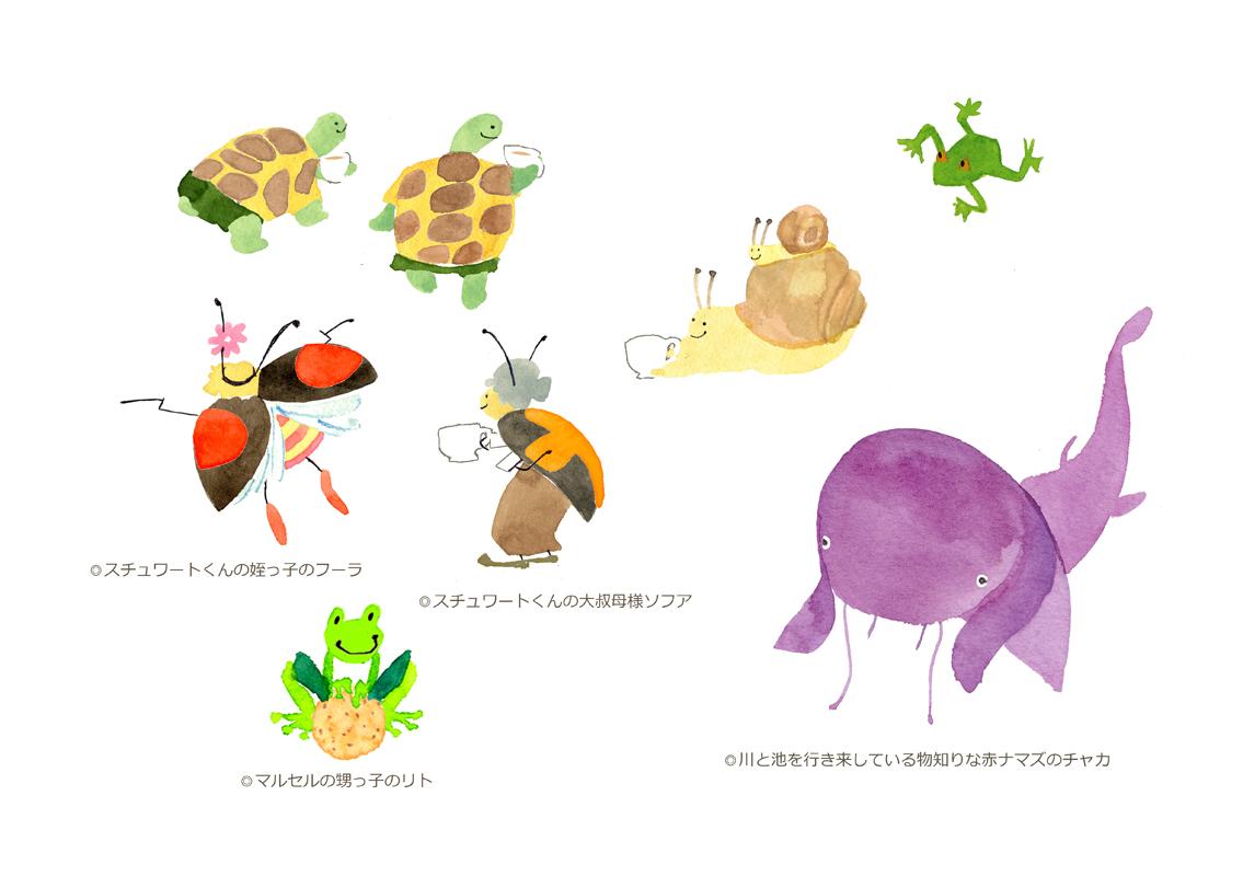キャラクター表 3