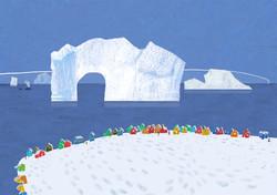 青 グリーンランド