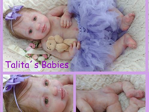 Bebê de silicone sólido kit Larissa (encomenda)