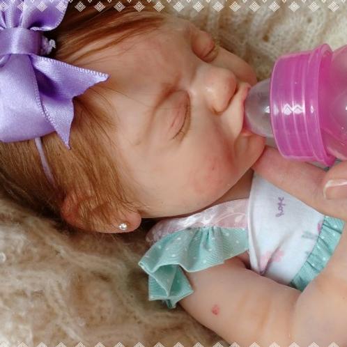 Bebê prematura de silicone sólido Kit Sofia