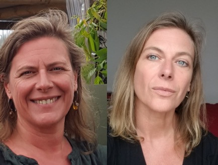 Before and After Facial Image