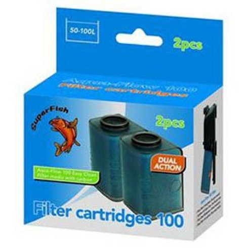 Superfish Aqua Flow 100 - Easy Click Replacement Cartridges