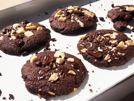 Ciastka dla czekoladomaniaków - potrójna czekolada, trzy razy tak!
