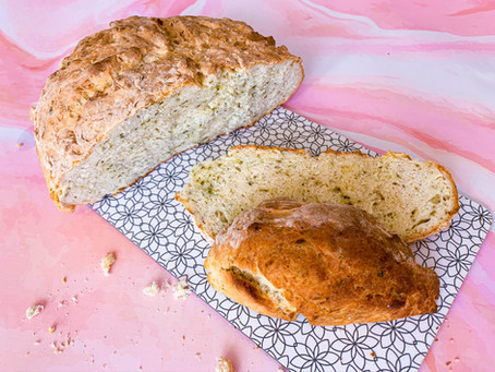 CHLEB w 25 minut - czyli Irlandzki chleb bez drożdży, miksera i zagniatania!