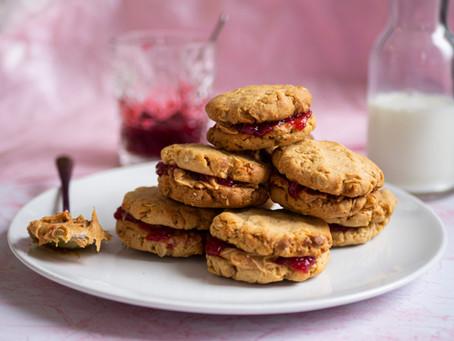 COOKIE KRONIKI, część 3 - ciasteczka Peanut Butter&Jelly!