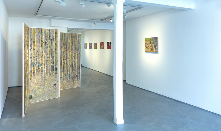 Installation solo show, Behind Closed Doors, Informality gallery, UK, 2020