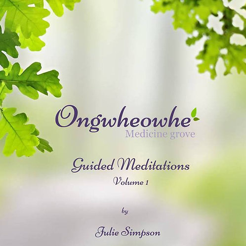 Meditations Guided by Julie Simpson of Ongwheowhe Medicine Grove
