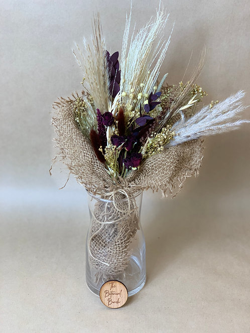 Rustic Rose Giftbox (Purple)