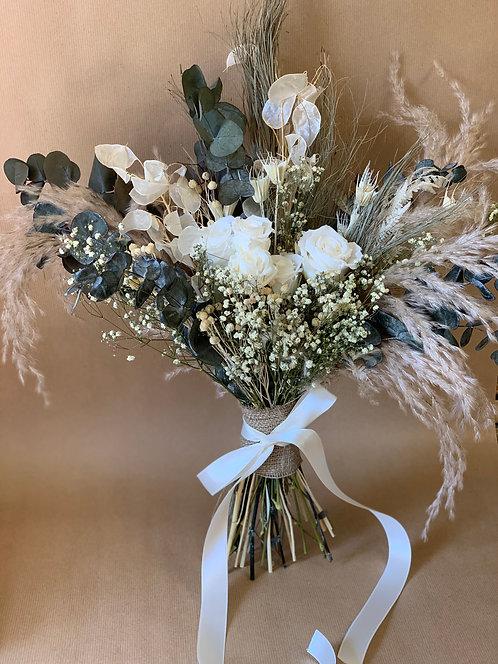 White Glitz Bouquet