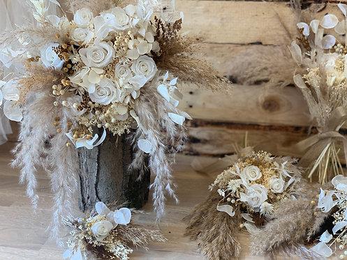 White & Woozy Bridal Bouquet