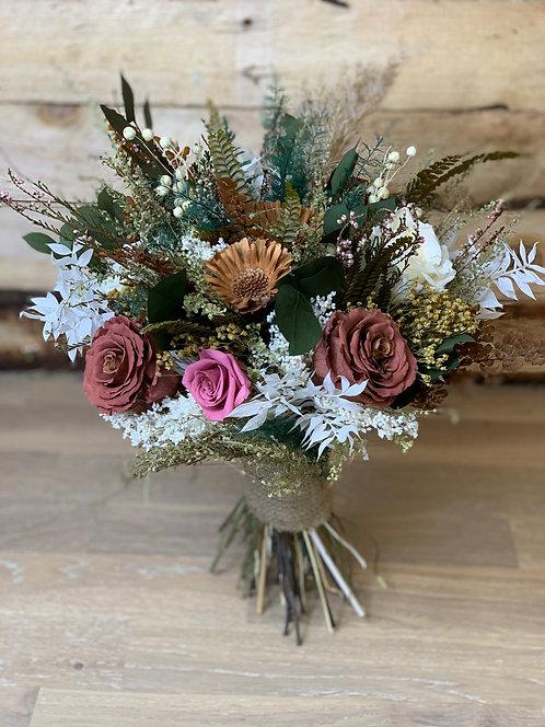 Mocha Dusk Bridal Bouquet