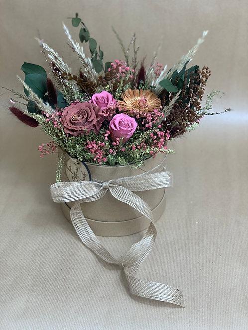 Enchanted Flower Hat Box
