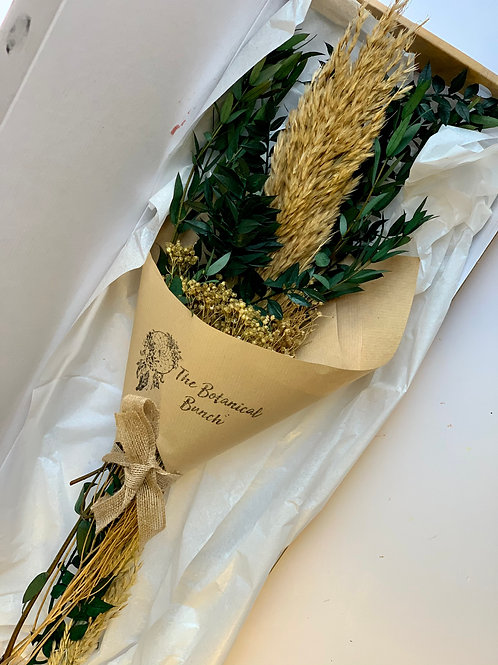 Foraged Gold Letterbox Flowers