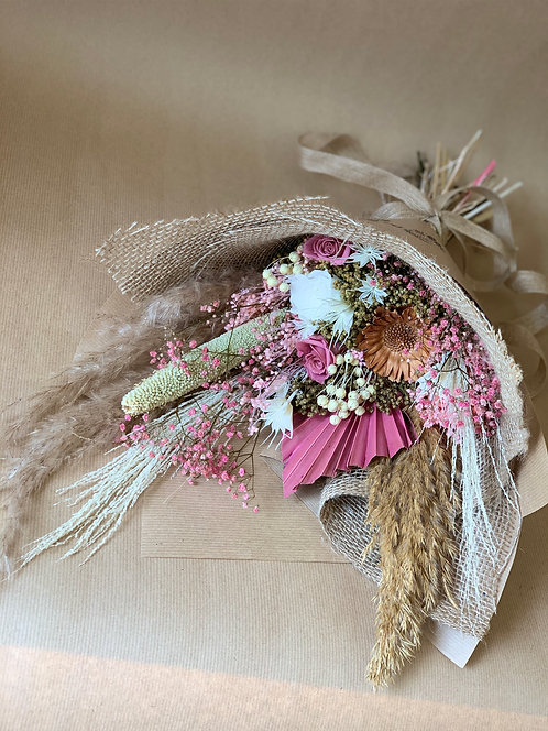 Preserved Pink Bouquet