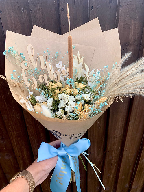 Oh Baby Bouquet - Blue