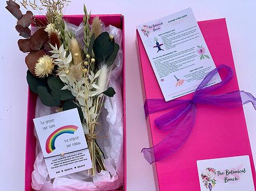 Autumn Mini Gift Box Bouquet