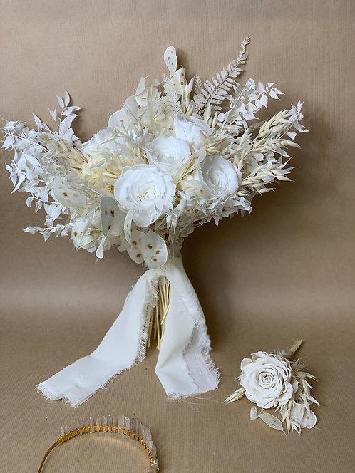 Ivory Romance Bridal Bouquet