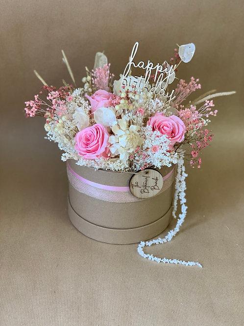 Baby Pink Flower Hat