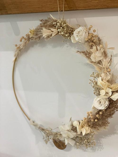 30cm 3/4 Borose Indoor Wreath
