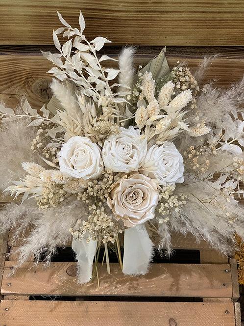 Satin Clouds Bouquet