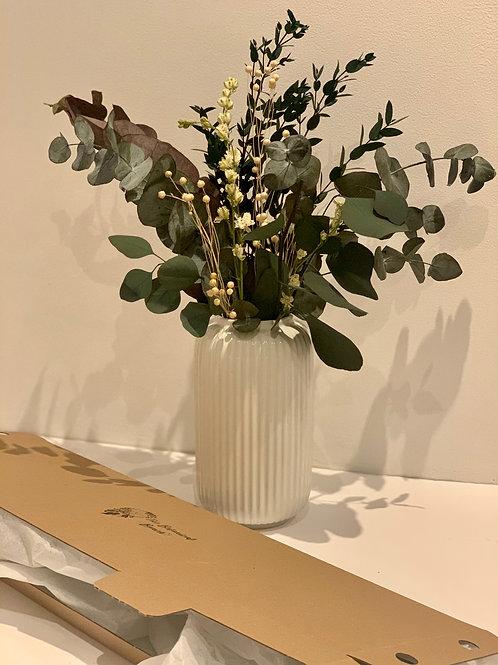 We love eu-calyptus letterbox flowers