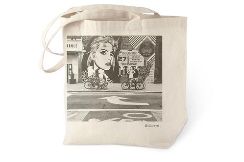 """Blondie"" cotton tote bag"