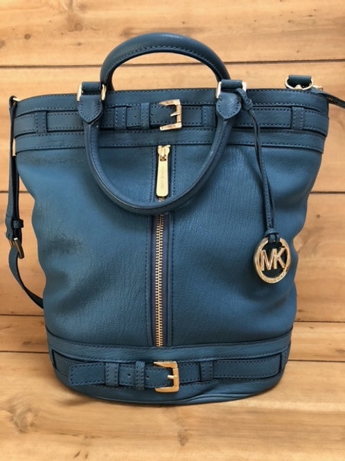Michael Kors Navy Leather Bag NEW