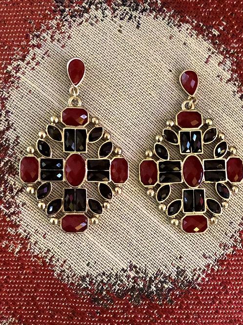 Lustrous  Drop Earrings