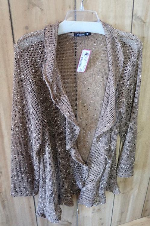 Adorn Light Sweater, Tan Size L