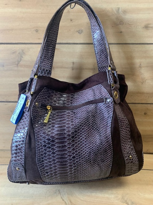 Daisy Fuentes Faux Snake Skin Bag