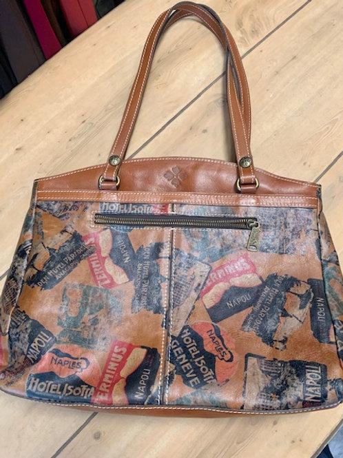 "Patricia Nash Tote Bag Handbag ""World Traveler"""