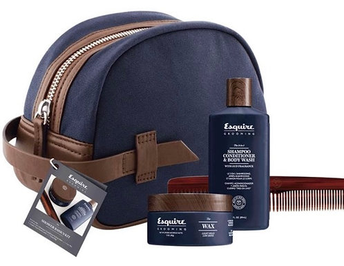 Esquire Grooming Travel Kit