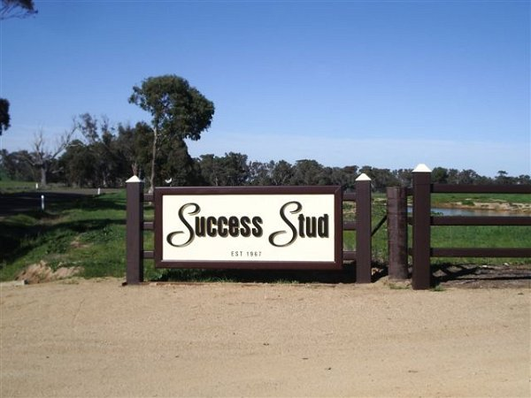 Success Stud Front Gate