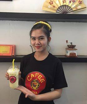 <Cafe ISSA >