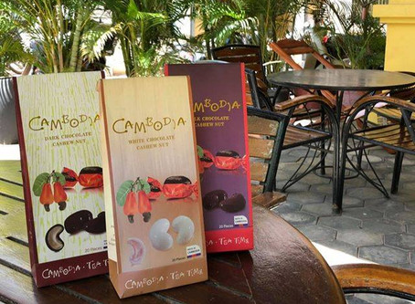 【当店の人気商品②〜チョコレートカシューナッツ〜】
