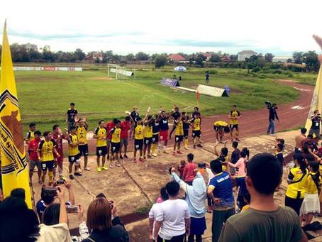【 カンボジアでサッカー観戦! 】