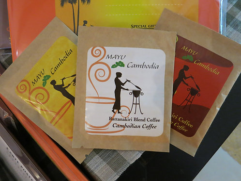 カンボジアドリップコーヒー 3パック
