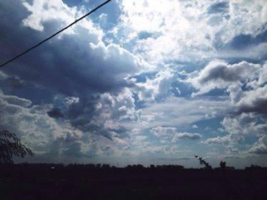 【空の変化】