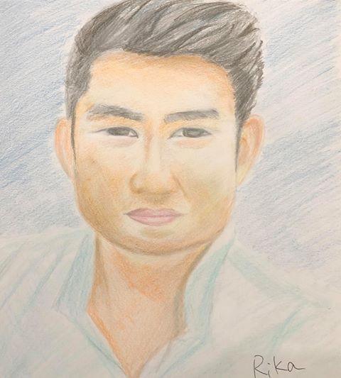【似顔絵でスタッフ紹介① リヒアンさん】