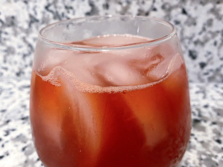 Infinity Stone Cocktail: Reality Stone