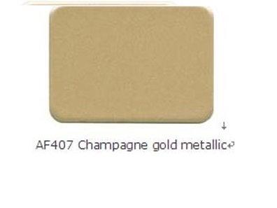 Alcobond 407 Champagne gold metallic