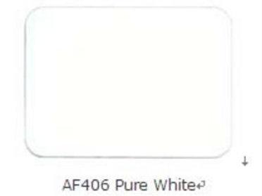 Alcobond 406 Pure White