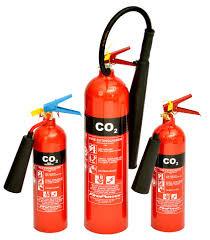 C02 FIRE EXTINGUISHER 3kgs - 50kgs